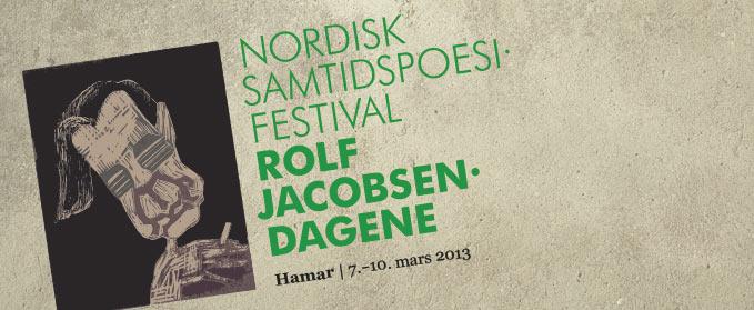 Bilde av logoen til Nordisk samtidspoesifestival | Rolf Jacobsen-dagene 2013