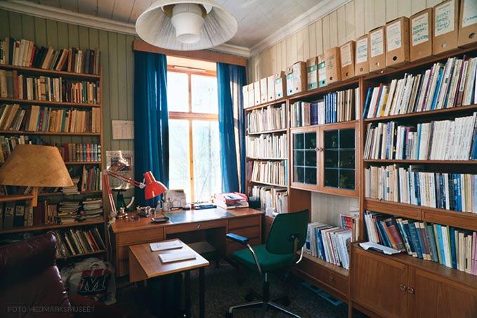 Foto av Rolf Jacobsens interiør i Skappels gate 2